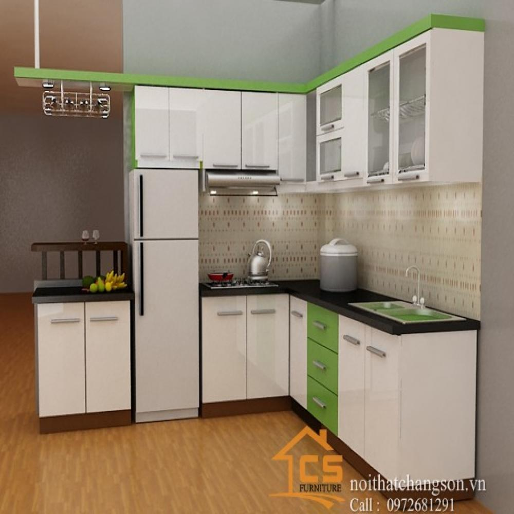 tủ bếp đẹp TBĐ-18