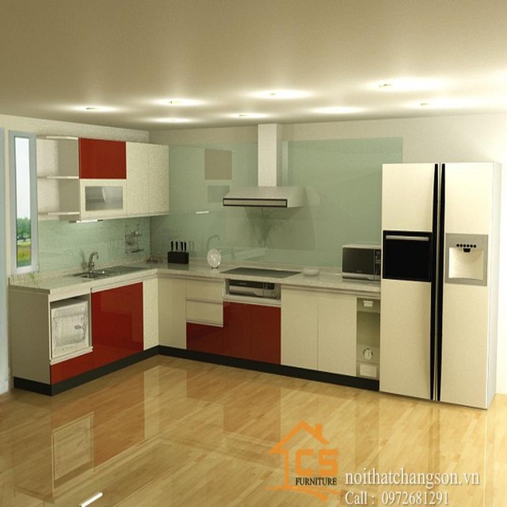 tủ bếp đẹp TBĐ-19