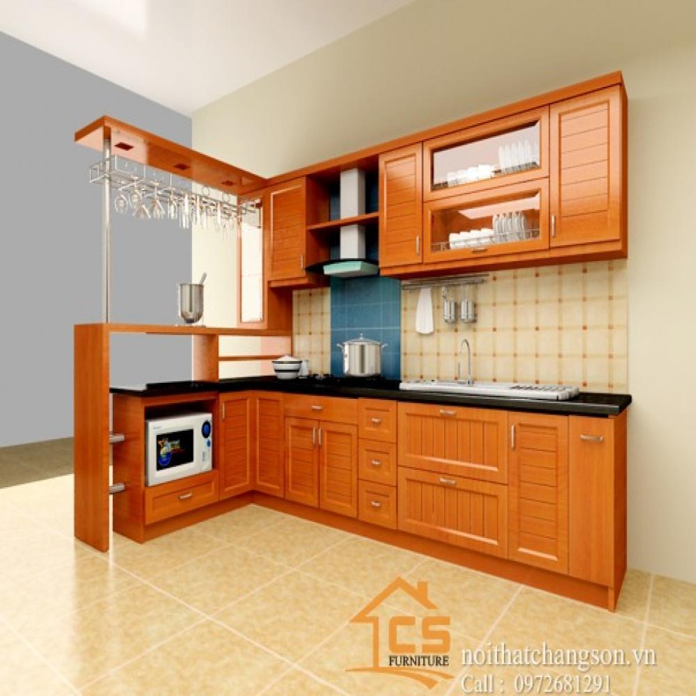 tủ bếp đẹp TBĐ-2