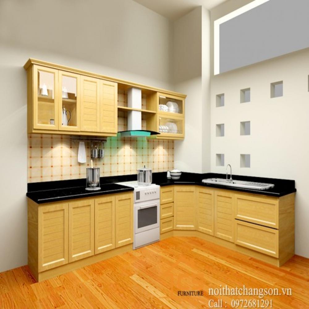 tủ bếp đẹp TBĐ-23