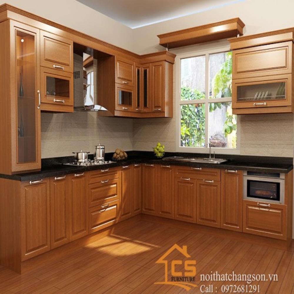 tủ bếp đẹp TBĐ-29