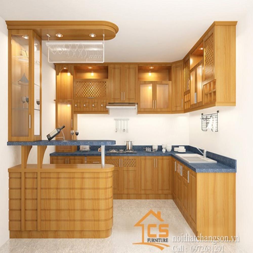 tủ bếp đẹp TBĐ-31