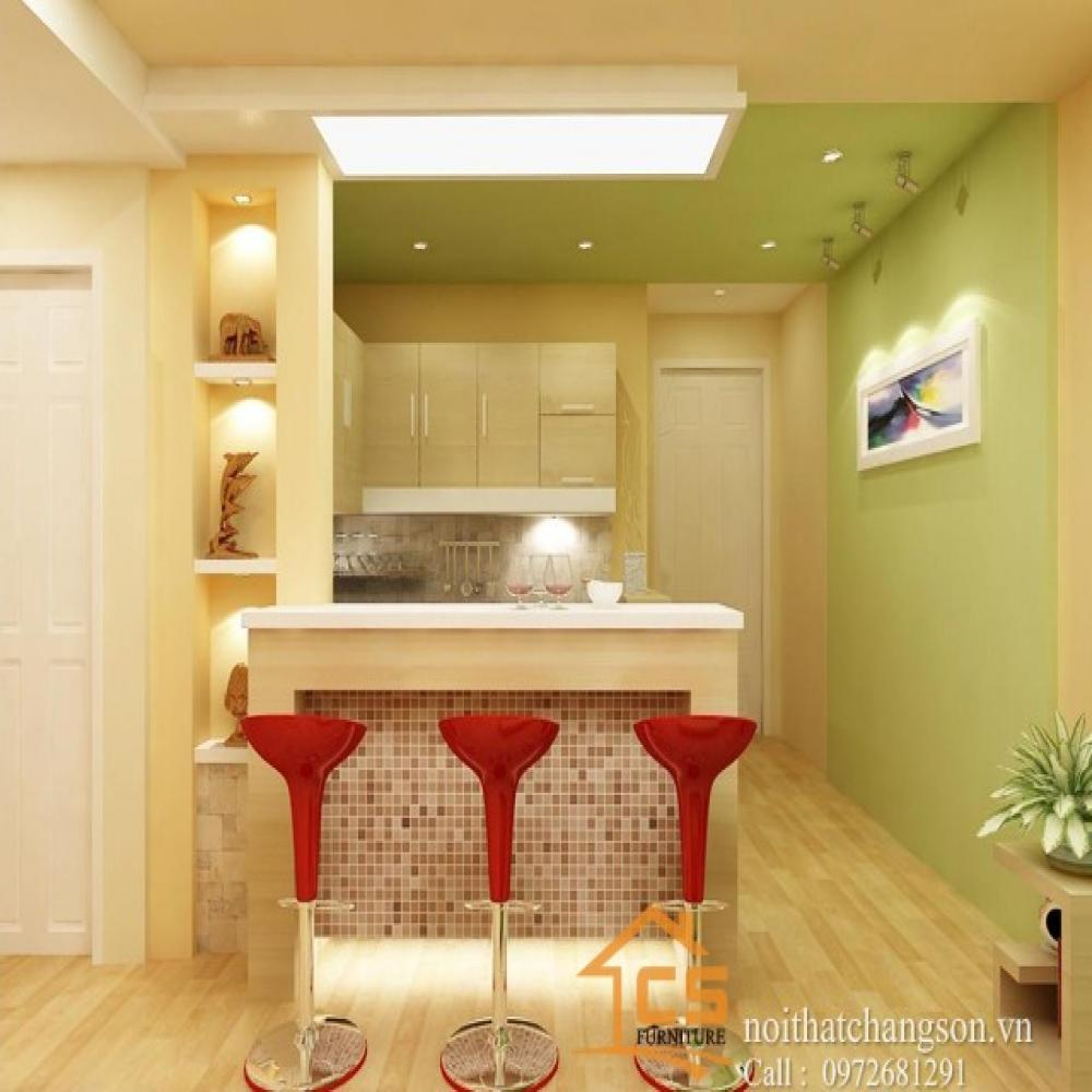 tủ bếp đẹp TBĐ-32