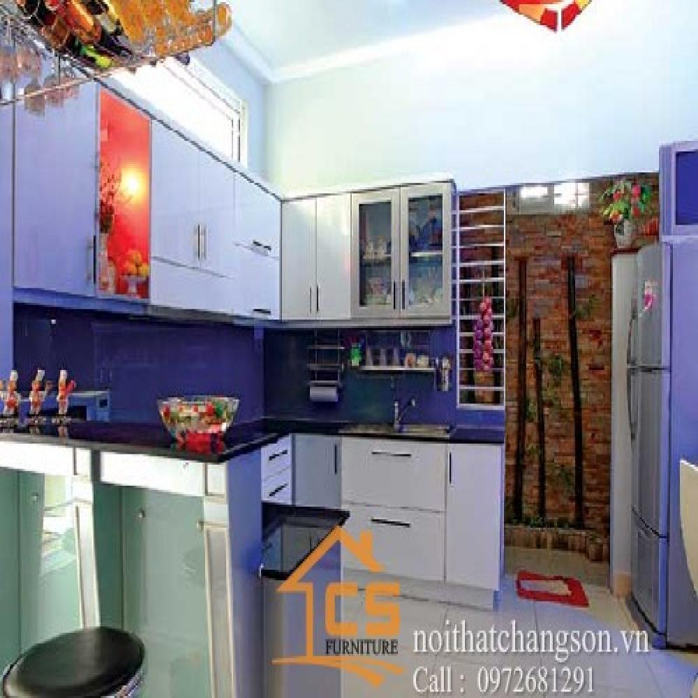 tủ bếp đẹp TBĐ-34