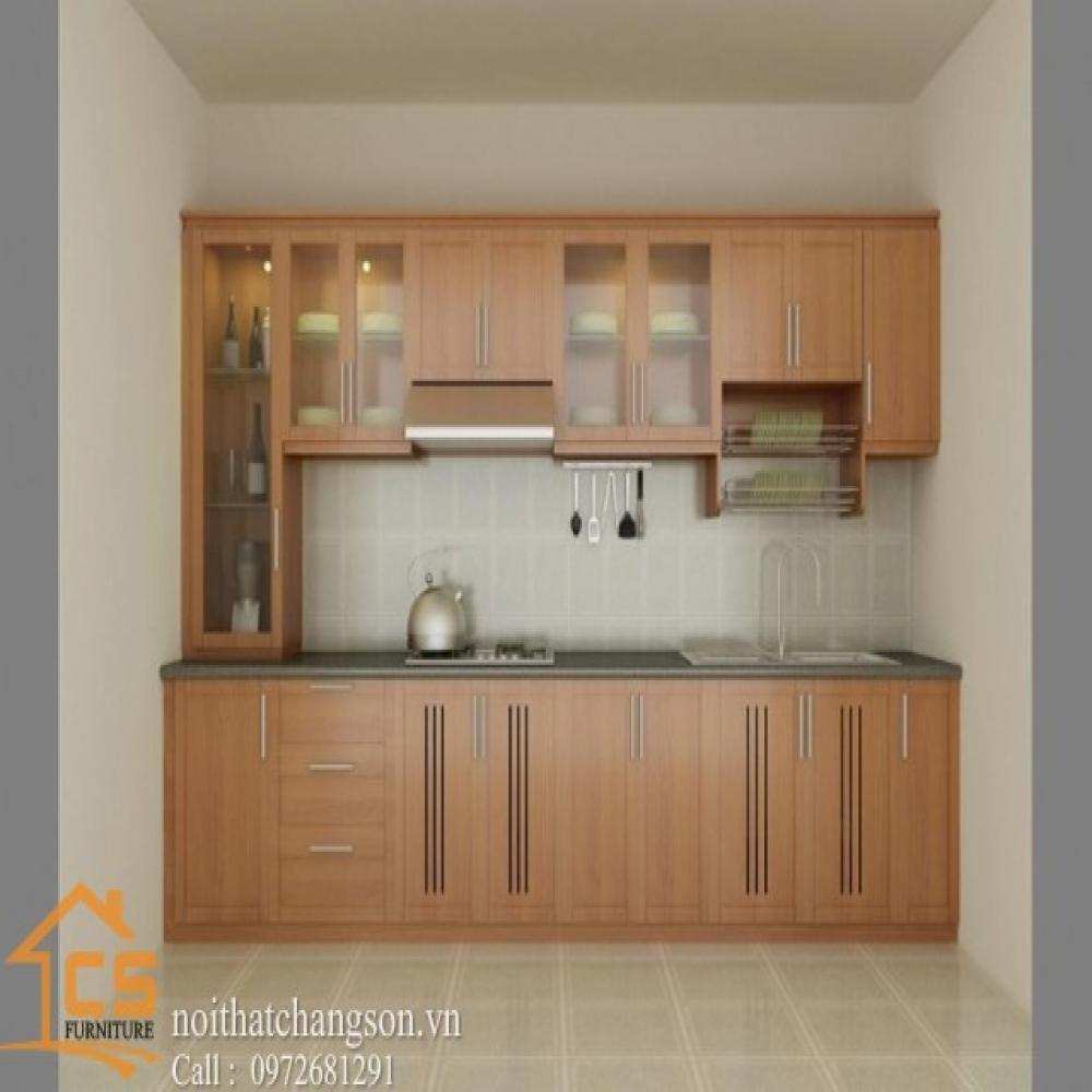 tủ bếp dạng chữ i TBCI-1