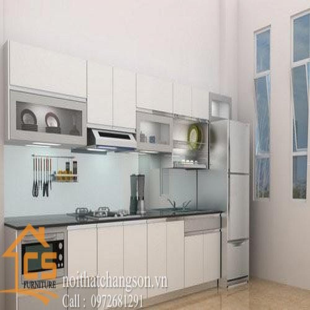 tủ bếp dạng chữ i TBCI-11
