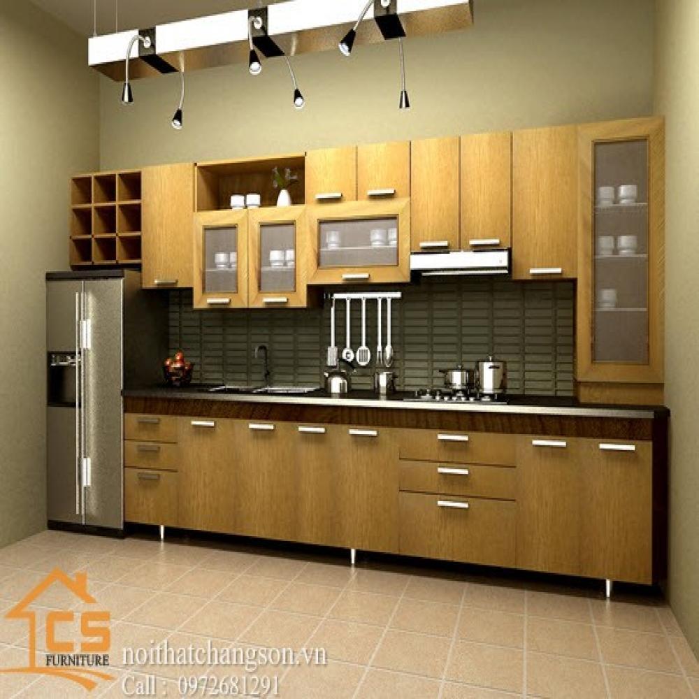 tủ bếp dạng chữ i TBCI-13