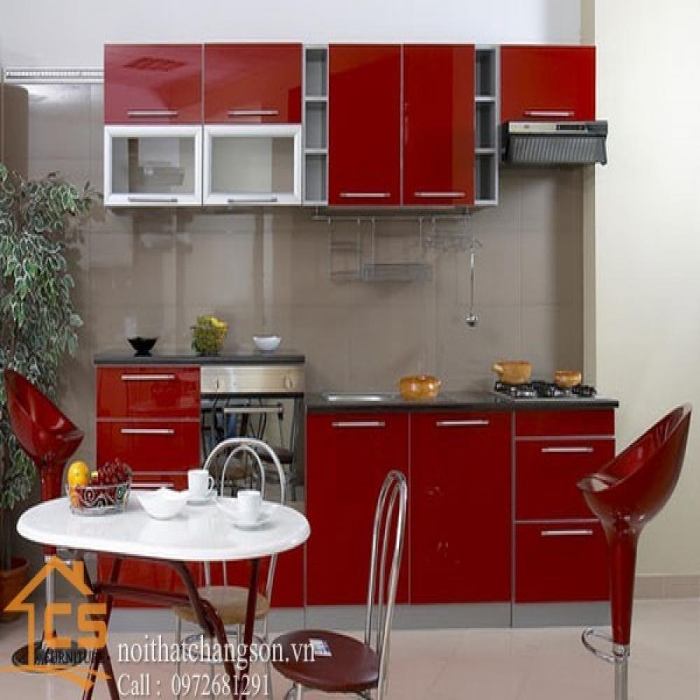 tủ bếp dạng chữ i TBCI-14