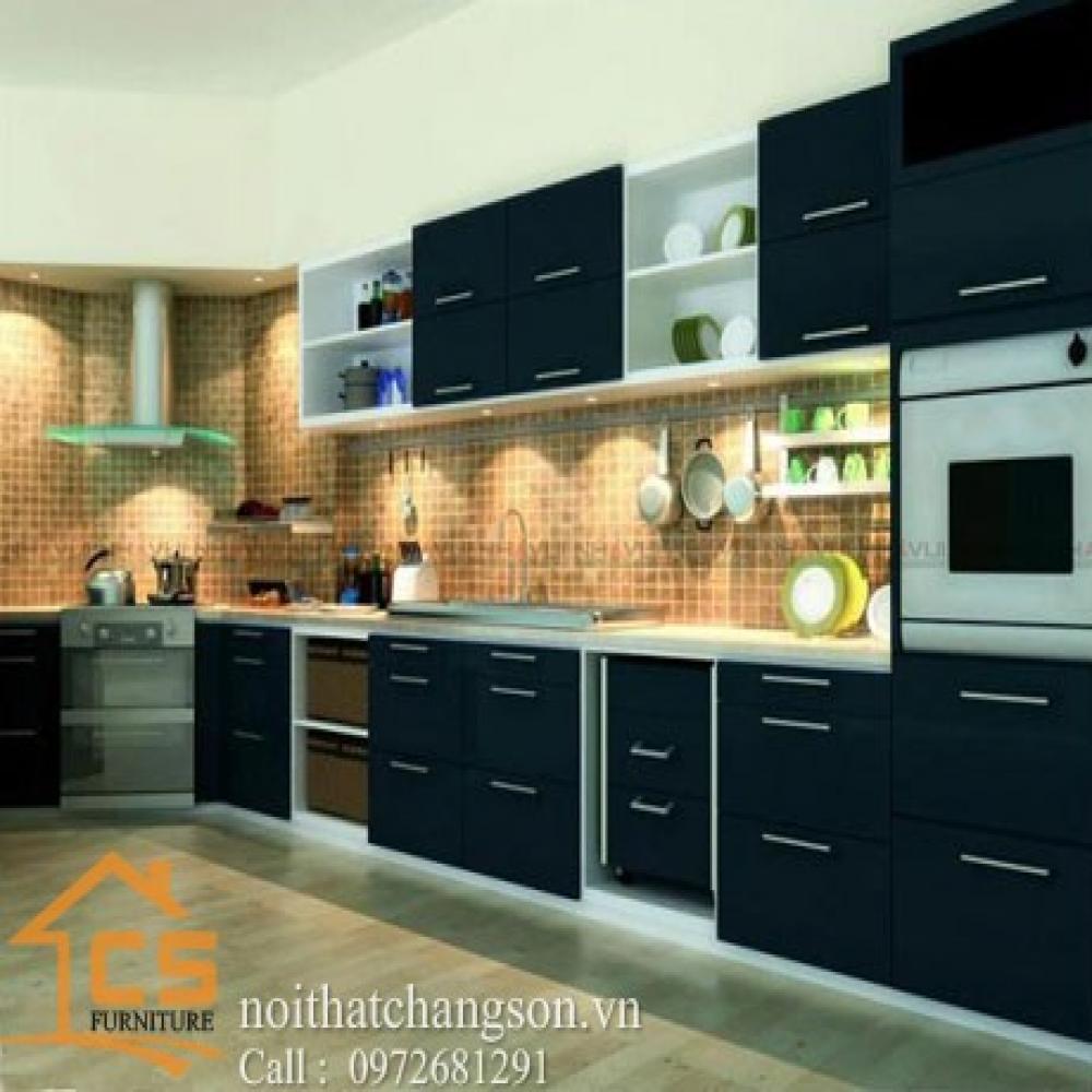 tủ bếp dạng chữ i TBCI-15