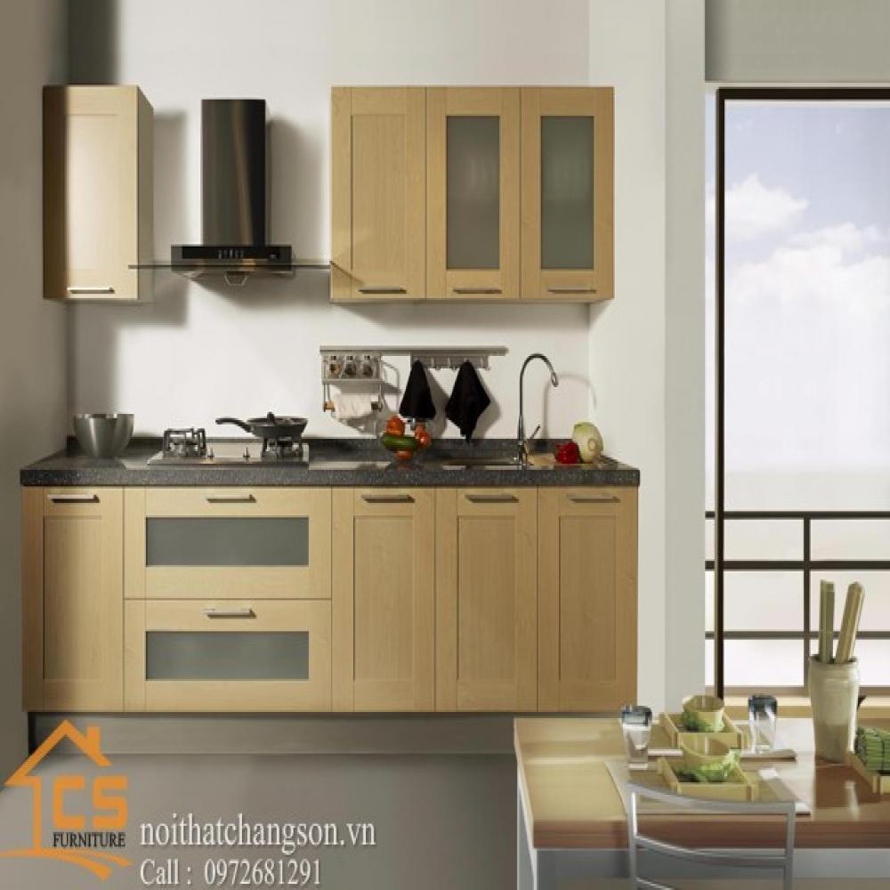 tủ bếp dạng chữ i TBCI-16