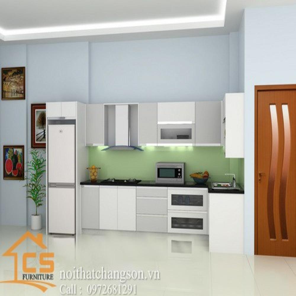tủ bếp dạng chữ i TBCI-17