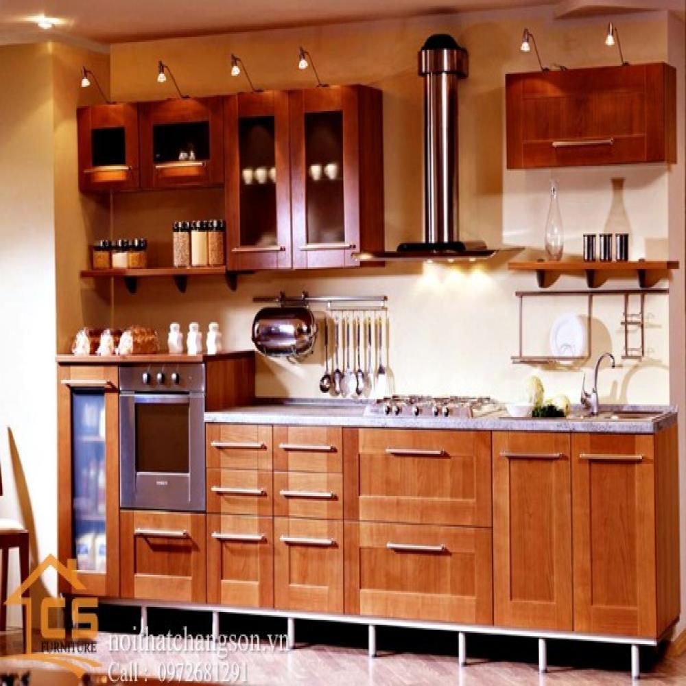 tủ bếp dạng chữ i TBCI-18