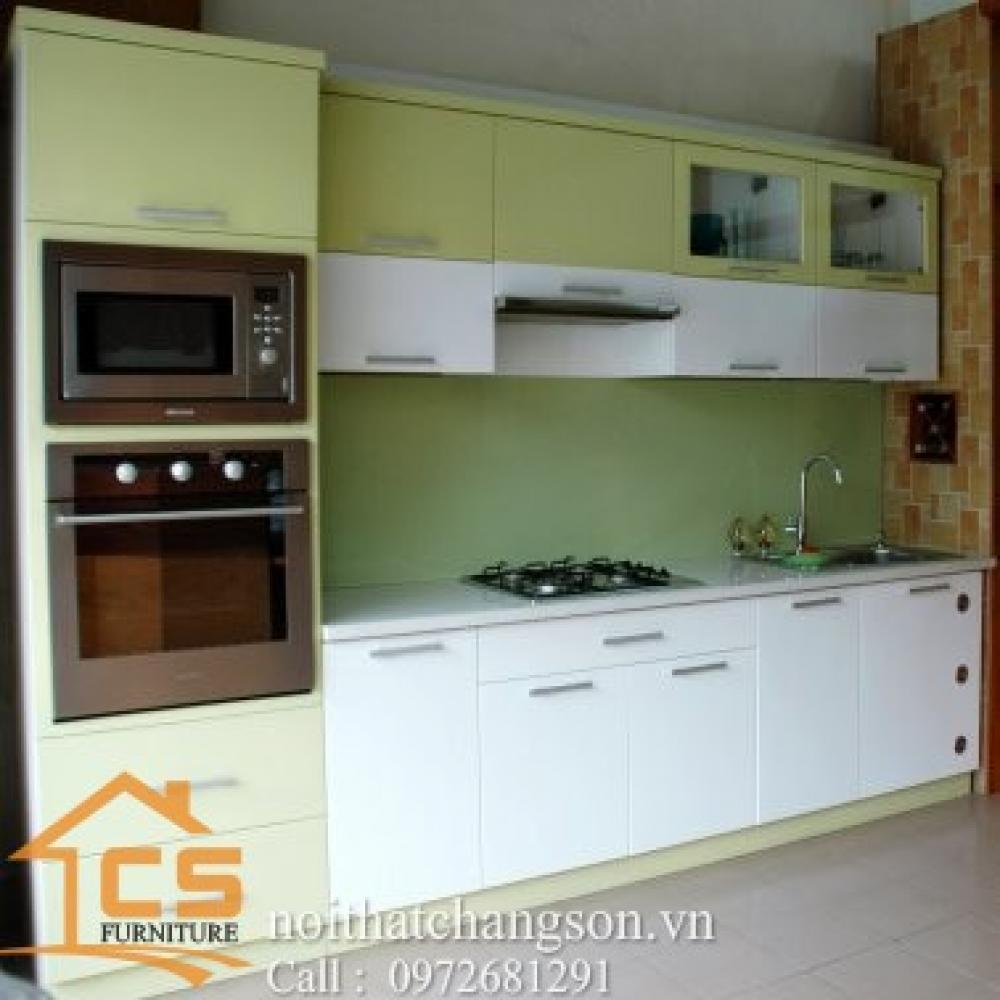 tủ bếp dạng chữ i TBCI-19