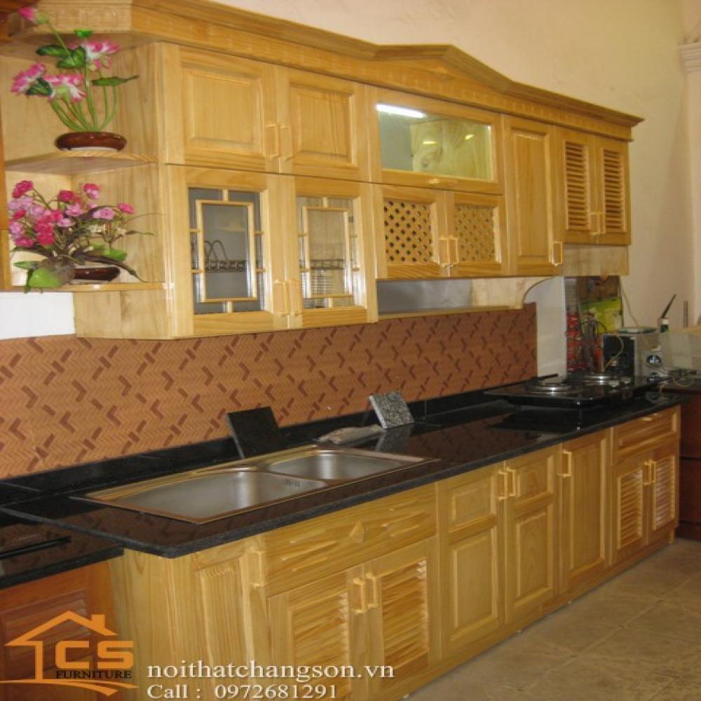 tủ bếp dạng chữ i TBCI-2