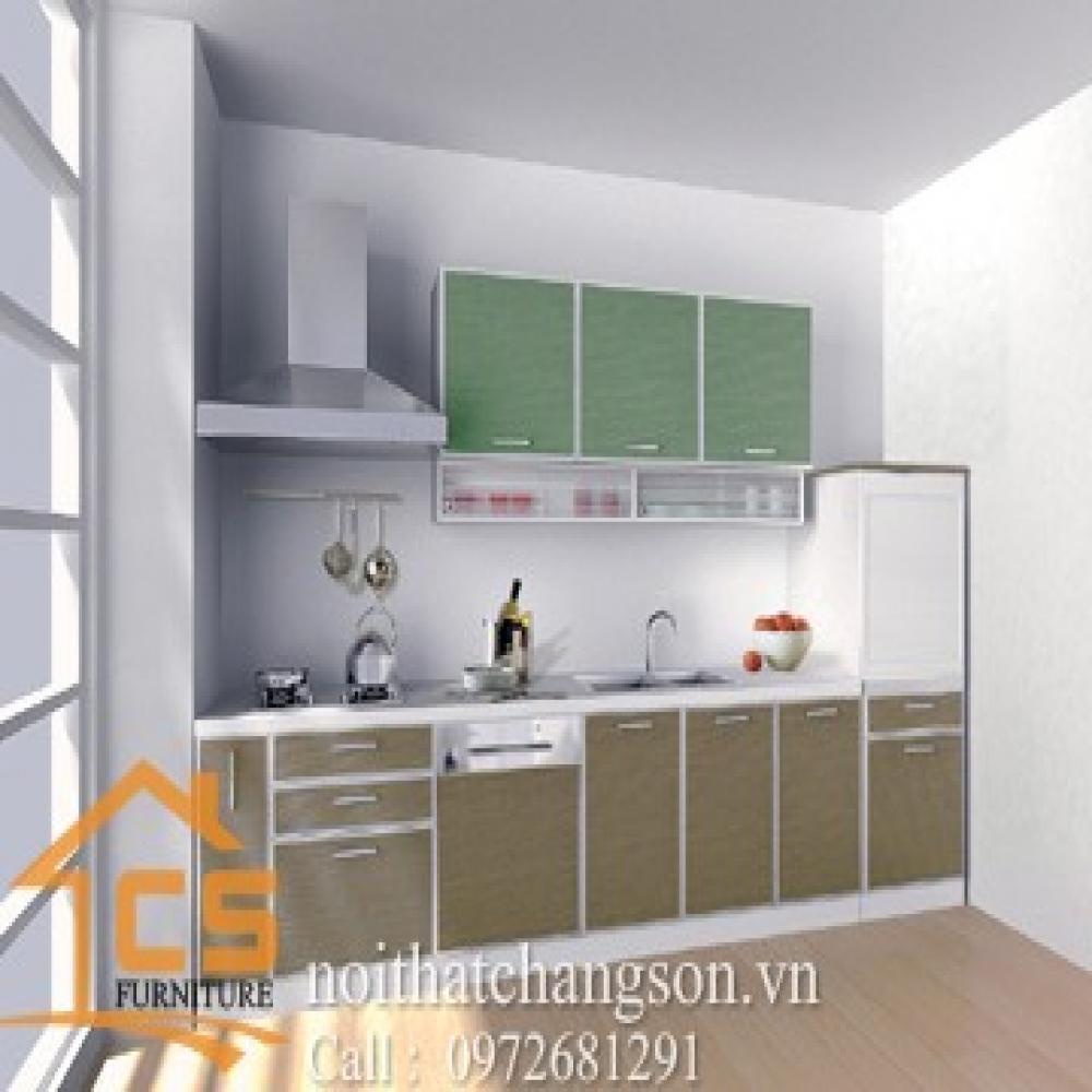 tủ bếp dạng chữ i TBCI-23