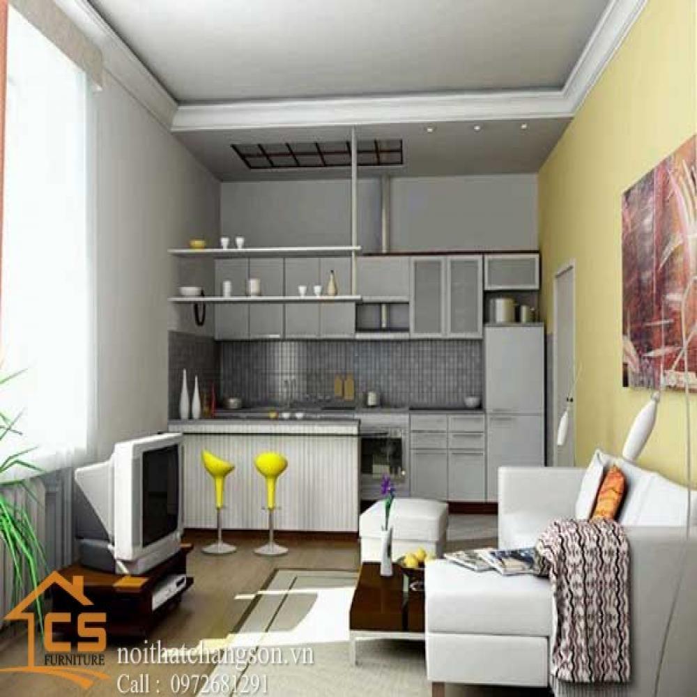 tủ bếp dạng chữ i TBCI-26