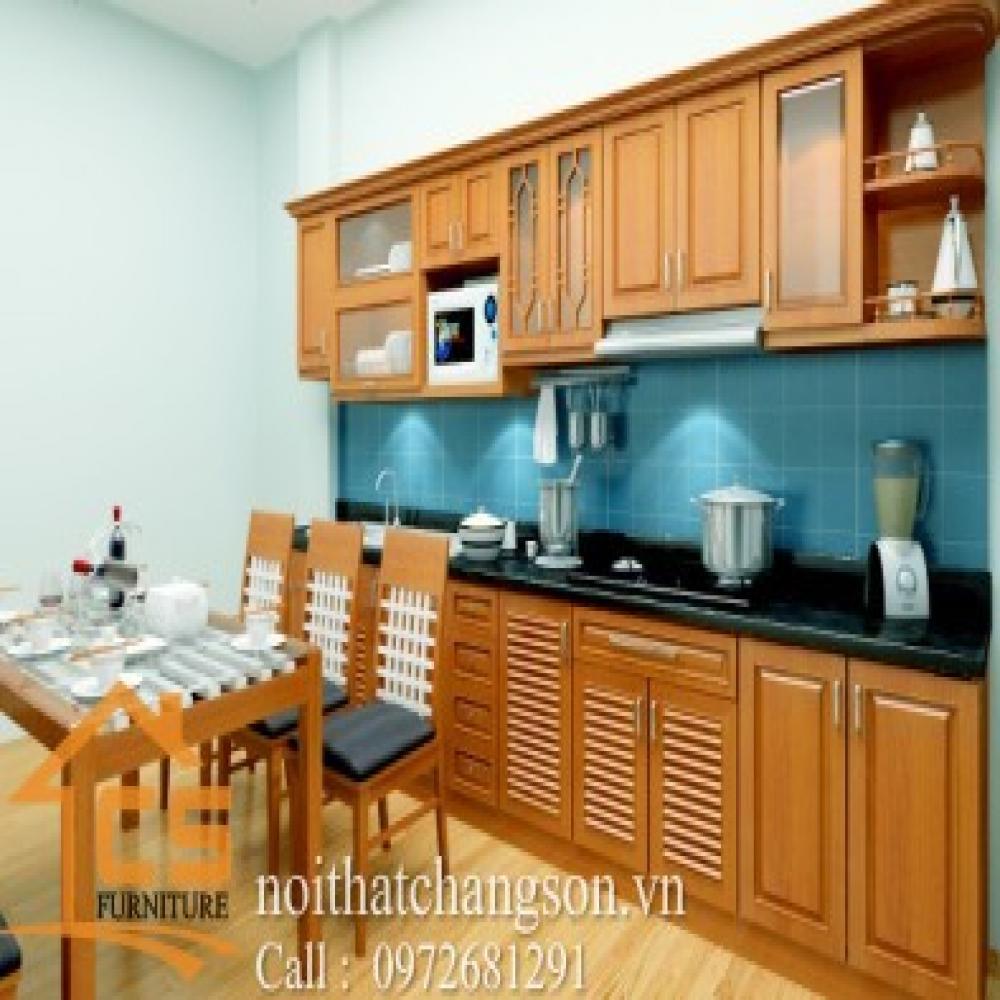 tủ bếp dạng chữ i TBCI-28