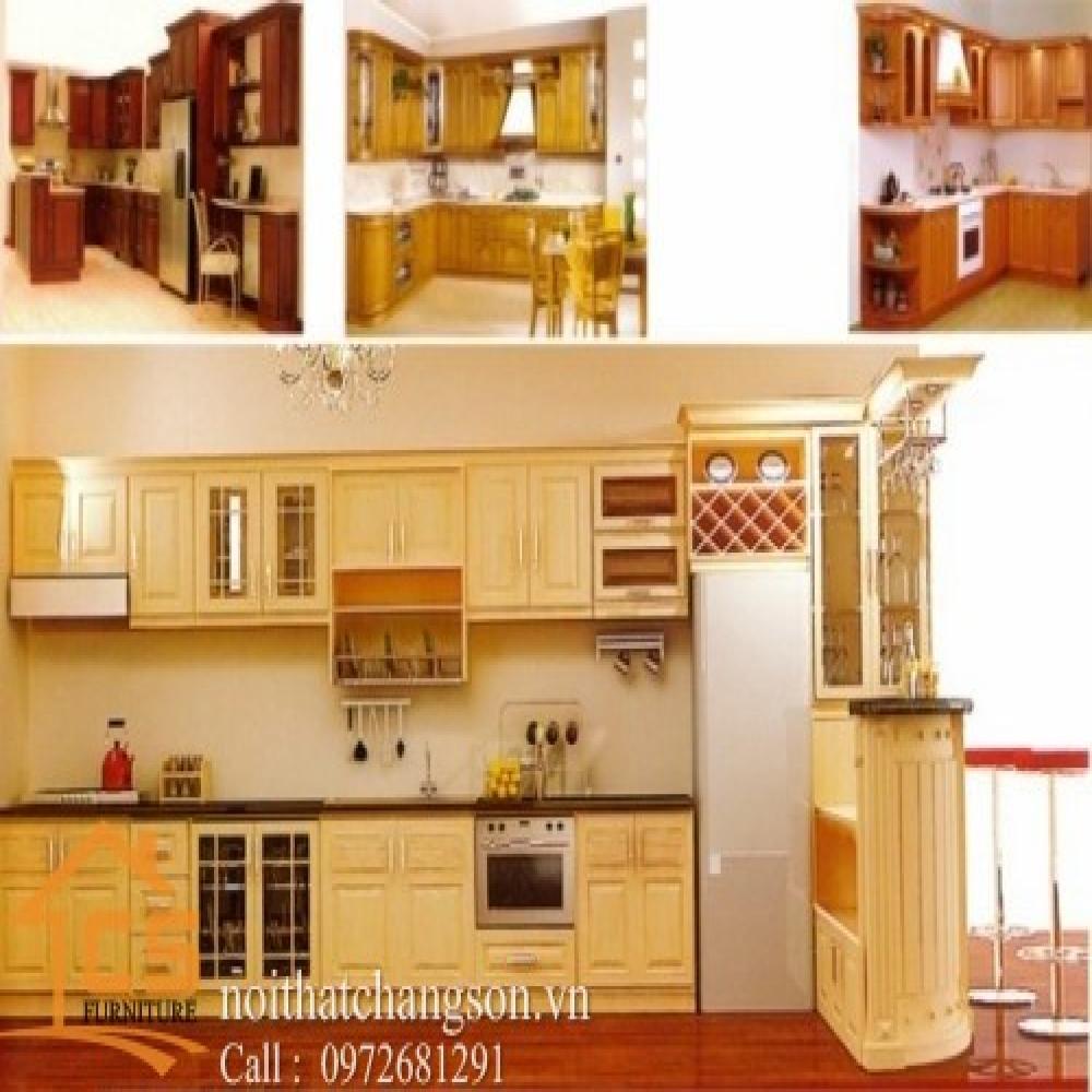 tủ bếp dạng chữ i TBCI-3