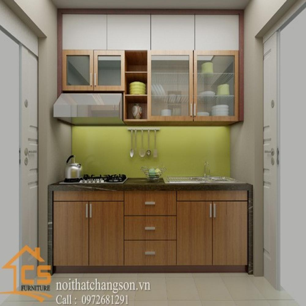 tủ bếp dạng chữ i TBCI-5