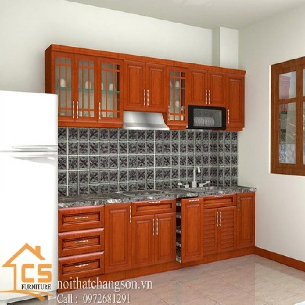 tủ bếp dạng chữ i TBCI-6