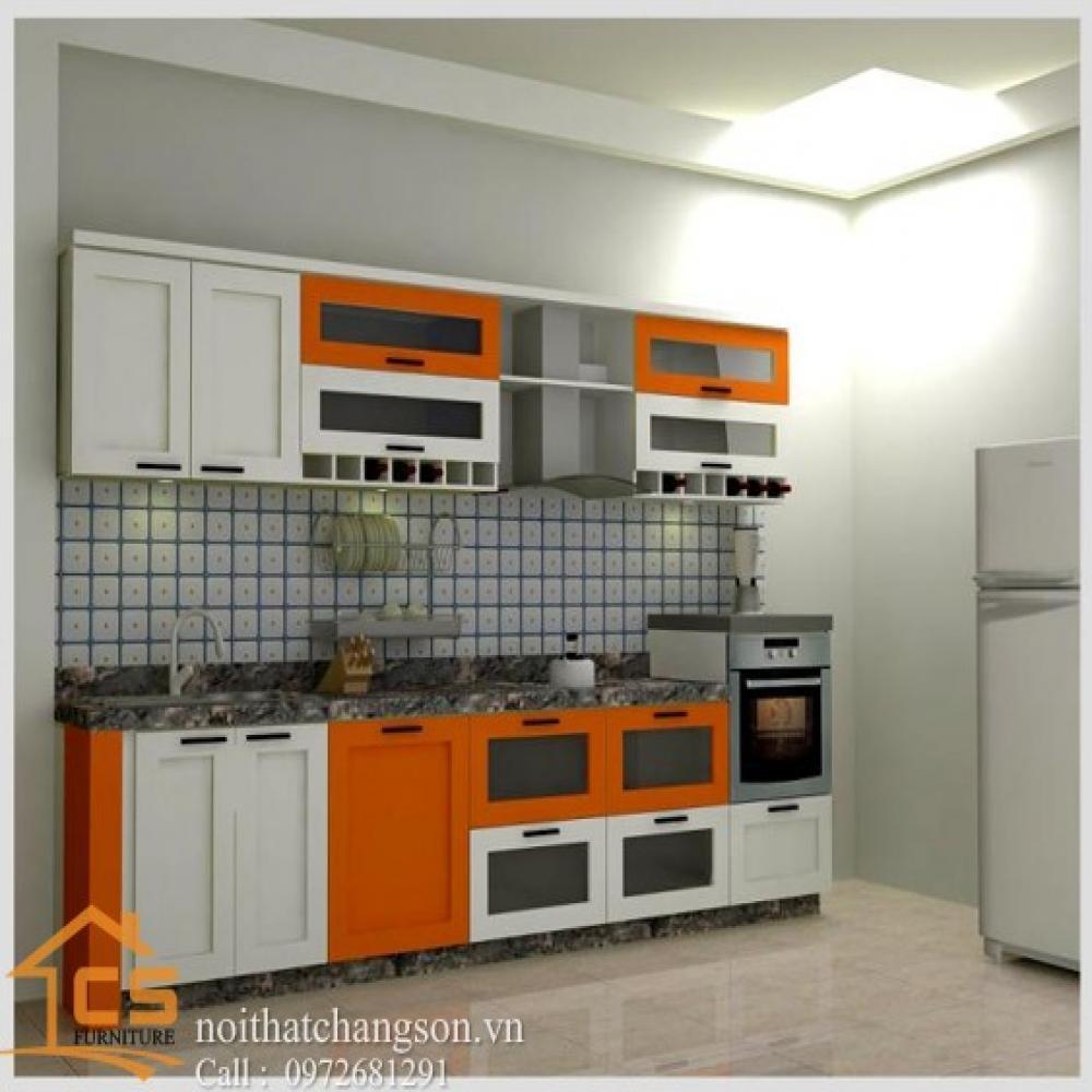 tủ bếp dạng chữ i TBCI-9