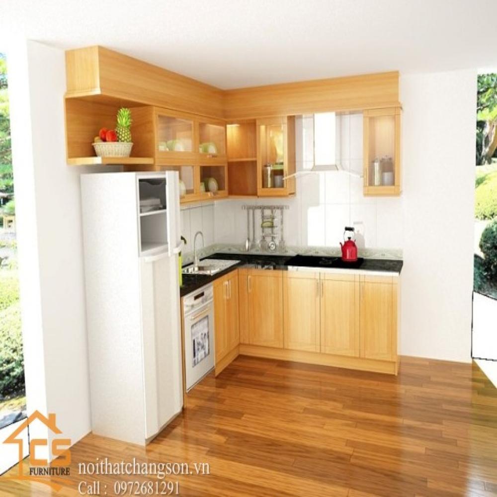 tủ bếp dạng chữ l TBCL-1