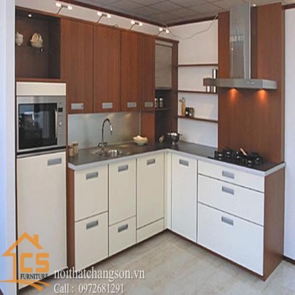 tủ bếp dạng chữ l TBCL-10