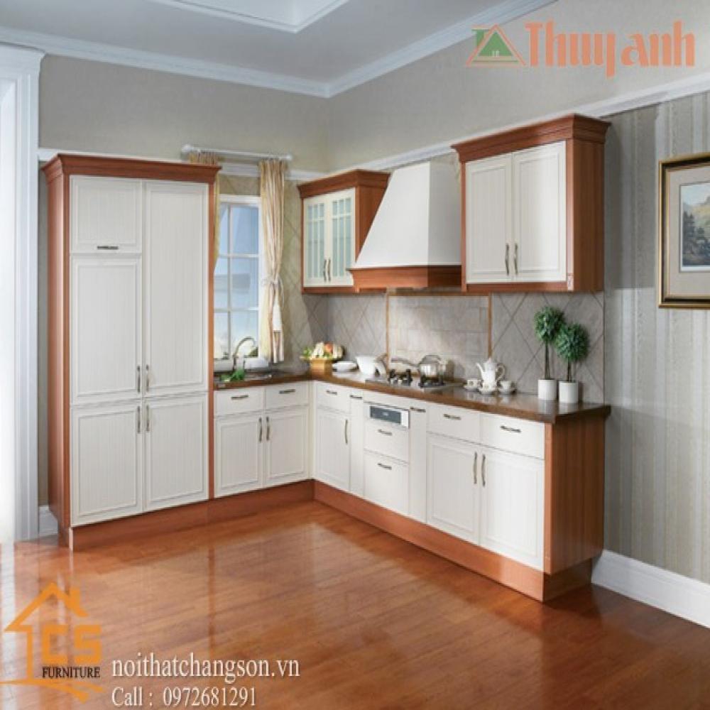 tủ bếp dạng chữ l TBCL-12