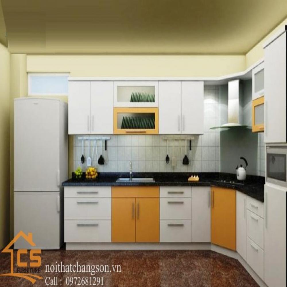 tủ bếp dạng chữ l TBCL-2