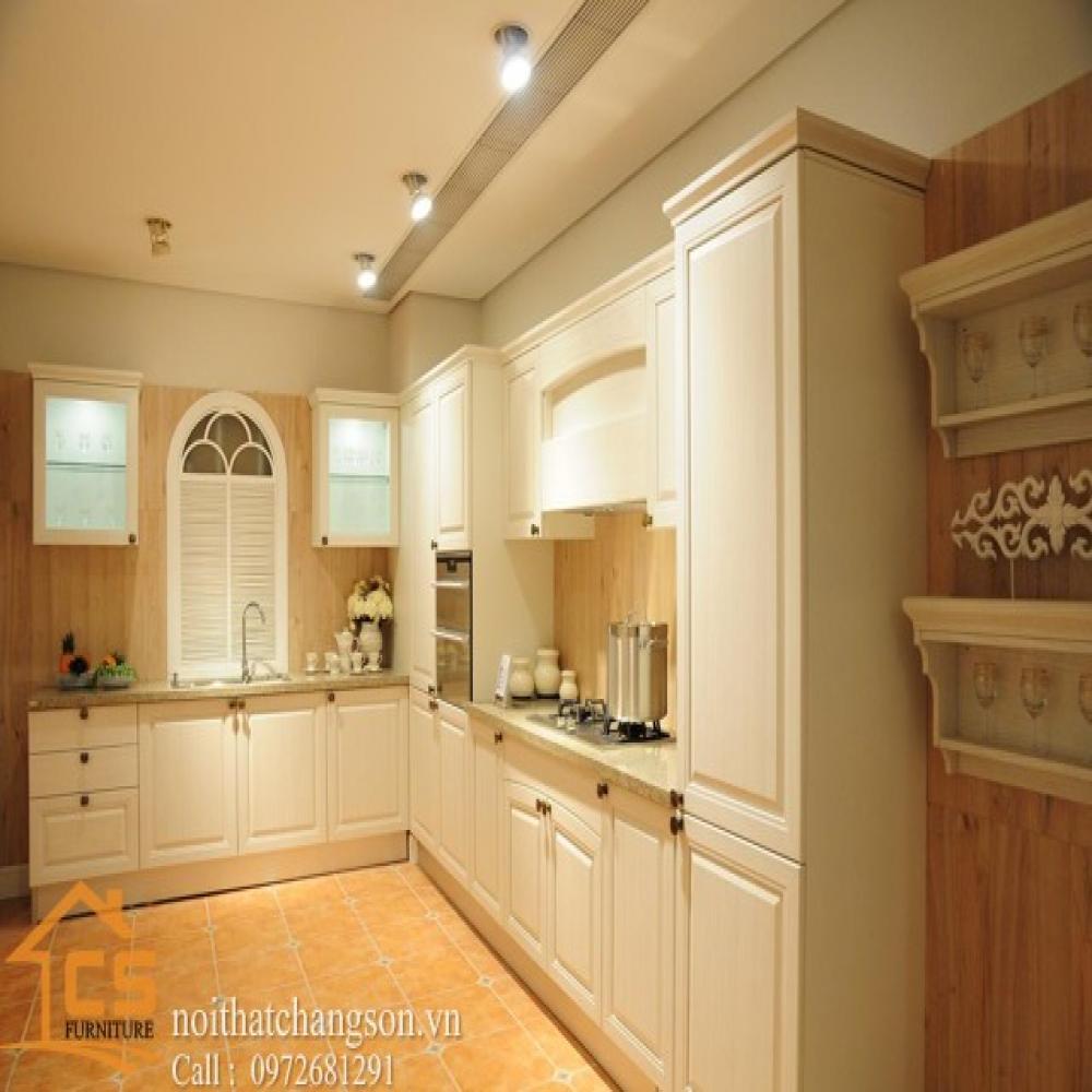 tủ bếp dạng chữ l TBCL-23
