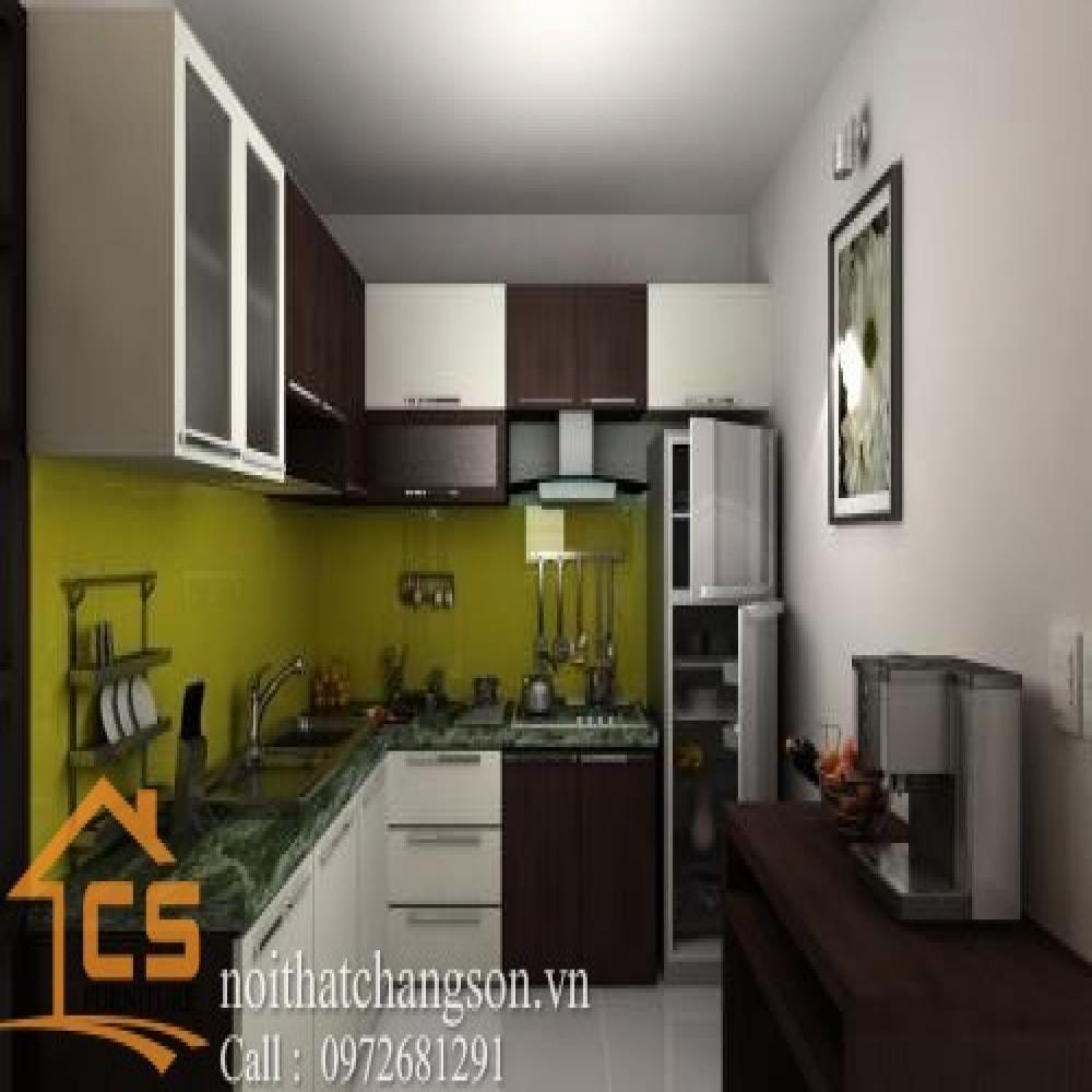 tủ bếp dạng chữ l TBCL-24