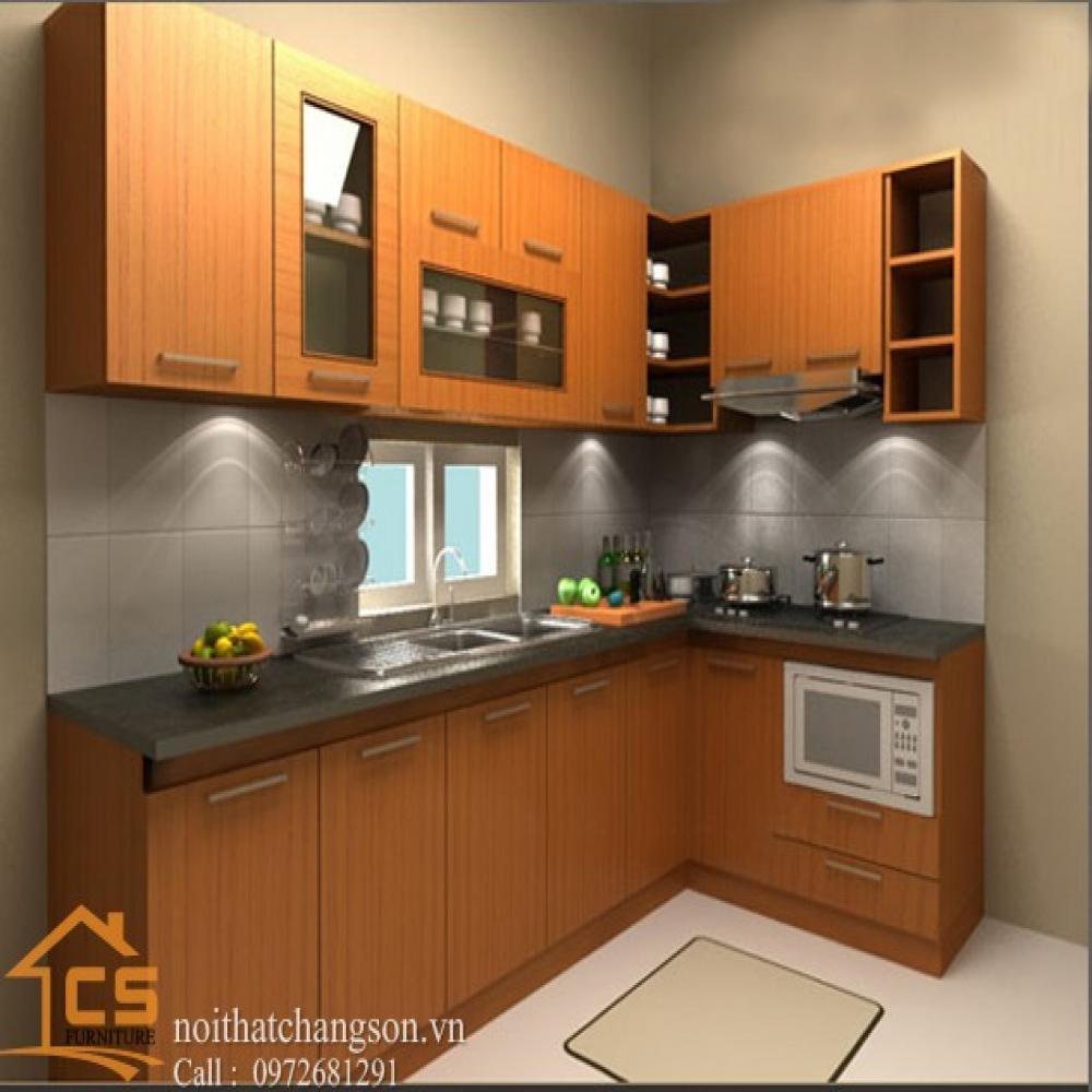 tủ bếp dạng chữ l TBCL-25
