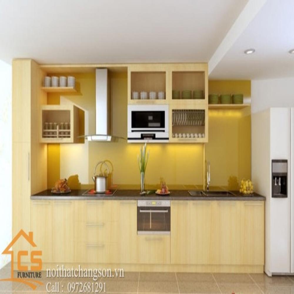 tủ bếp dạng chữ l TBCL-27