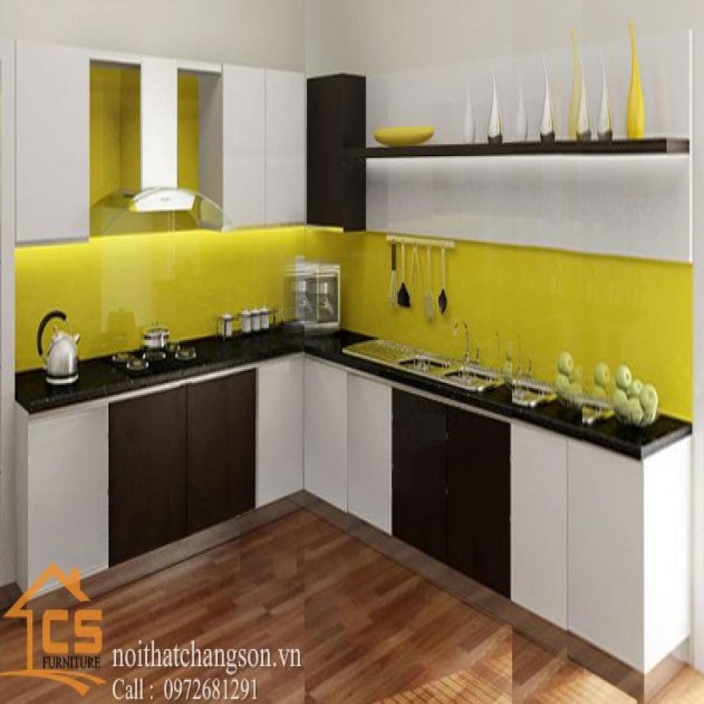 tủ bếp dạng chữ l TBCL-4