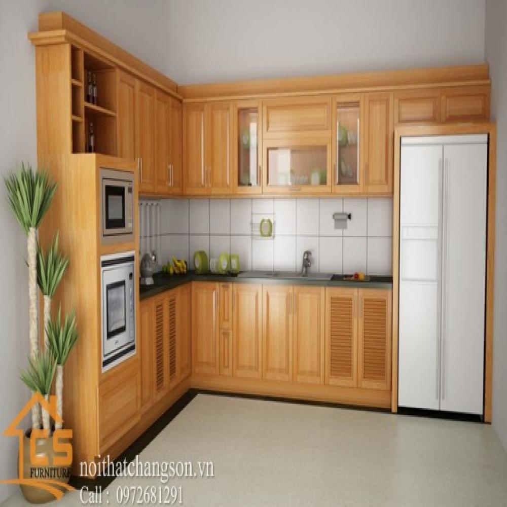 tủ bếp dạng chữ l TBCL-5