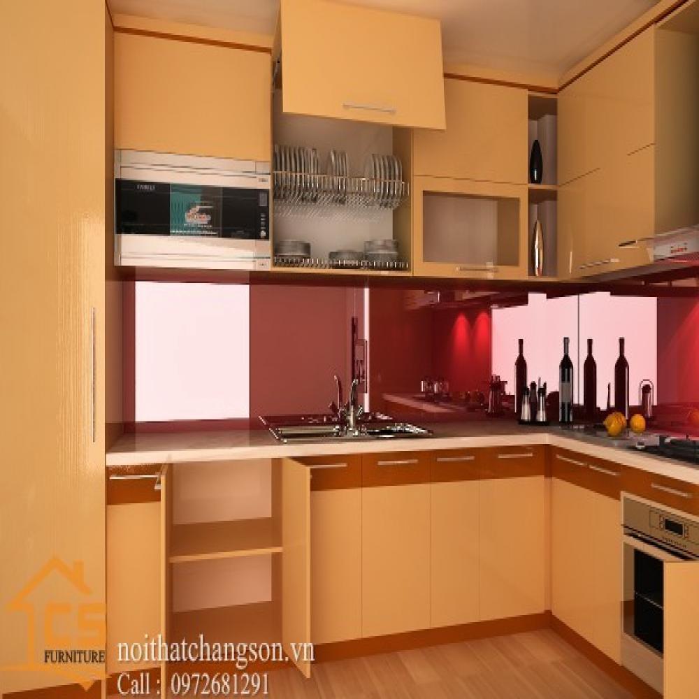 tủ bếp dạng chữ l TBCL-6